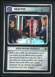 Star Trek CCG 1E Assign Mission SpecialistTournament Foil