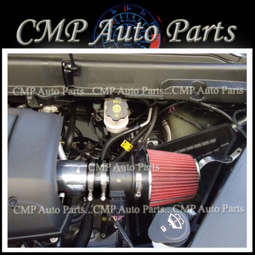 BLACK /& RED 2007-2011 GMC ACADIA DENALI SL SLE SLT 3.6 3.6L V6 AIR INTAKE KIT