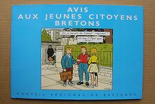 BD collective en EO CHALAND, AVRIL, STANISLAS - Avis aux jeunes citoyens bretons