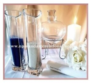 Sand Ceremony Wedding.Details About Sale Heart Shaped Wedding Unity Sand Ceremony Vase Set 2 Colors Of Sand
