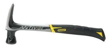 STANLEY 51-165 Rip Claw Hammer,Antivibe,20 Oz,Smooth