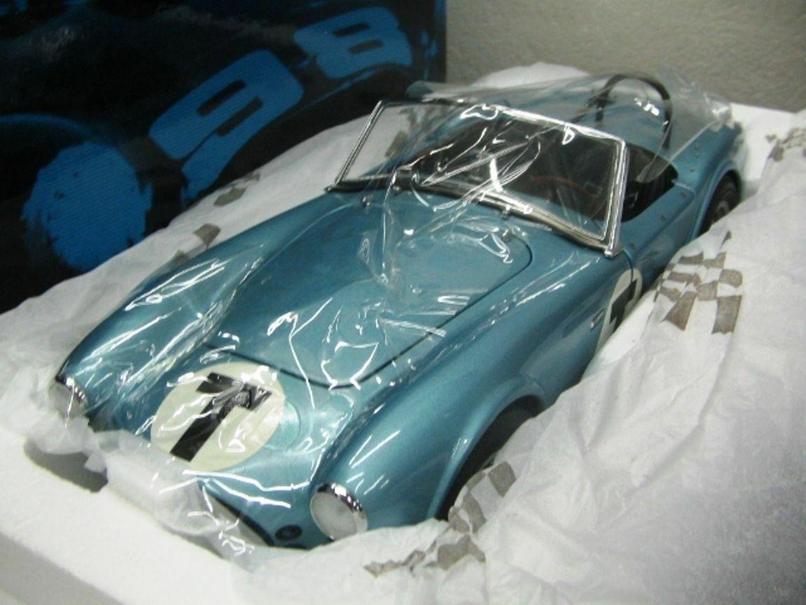 Wow extrêmement rare AC SHELBY COBRA 260 T Roadster 1962 école de conduite 1 18 Exoto