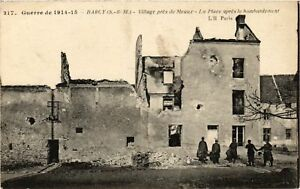 Cpa Militaire - Barcy - La Place Aprés Le Bombardement (697846) Rihuhvxc-07215435-609075510