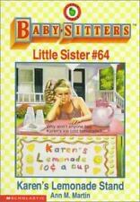 Karen's Lemonade Stand (Baby-Sitters Little Sister, No. 64) Martin, Ann Matthew