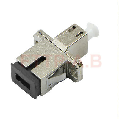 1 pcs Carrier-class LC-FC switching Adapter Flange FC-LC Fiber Optic Connector
