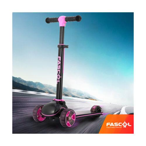 Fascol Scooter Cityroller Kinderroller Kickroller Tretroller LED Räder bis 60 kg