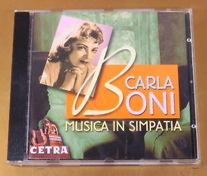 CARLA-BONI-MUSICA-IN-SIMPATIA-2000-OTTIMO-CD-AC-124