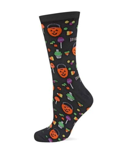 HOT SOX Halloween Socks Originals Trouser Sock  Jack-O/'-Lantern Candy HO000350