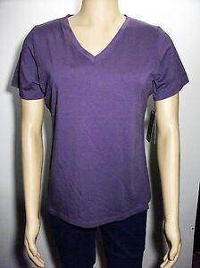 New-Cabelas-v-neck-short-sleeve-top-womens-large