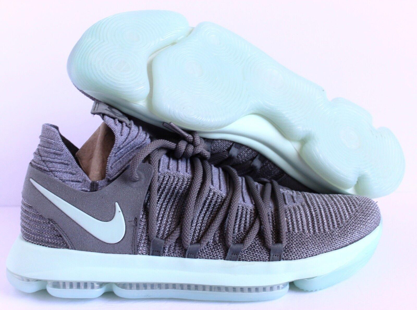 NEW Nike Zoom  KD X Kevin Durant KD10 Cool Grrey-Igloo-bianca SZ 14 [897815-002]
