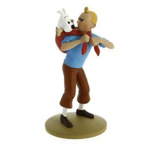 TIM-amp-STRUPPI-Tintin-rettet-Struppi-Figur-MOULINSART-ca-12cm-NEU-L