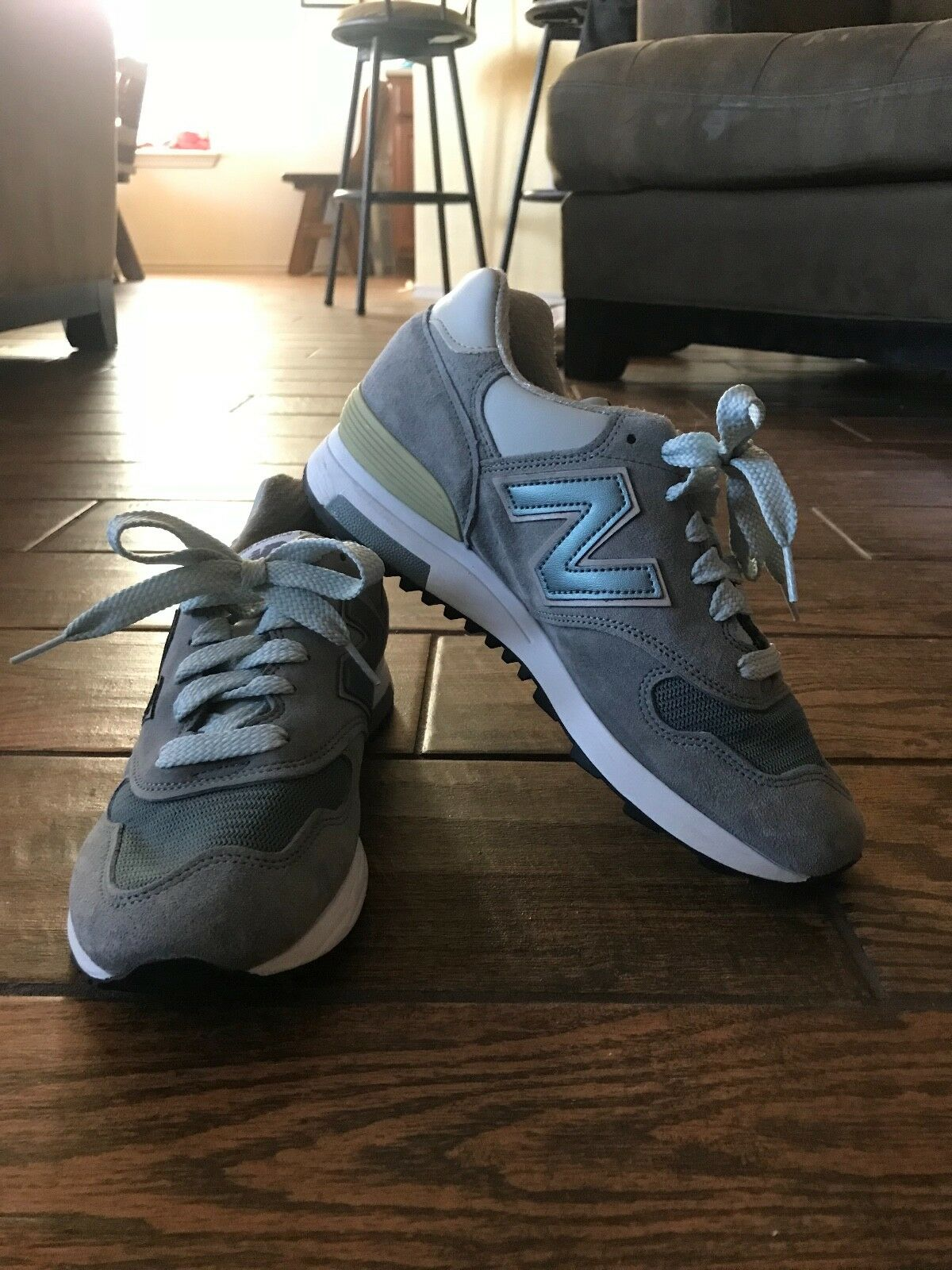 New Balance 1400 Real Suede shoes- Men's Size 5 1 2, Women's Size 8  BRAND NEW