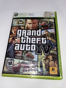 GRAND THEFT AUTO IV (Microsoft Xbox 360 2009)- Complete With Manual/Map
