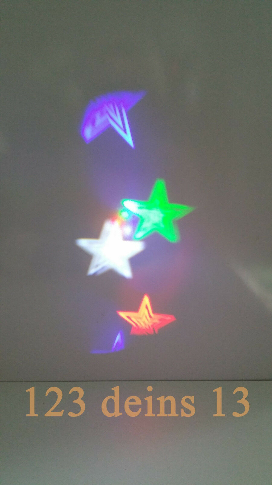 ELAMBIA % flammenlose Projektionskerze Sterne Ø Ø Ø ca. 15cm | Zu einem erschwinglichen Preis  d11652