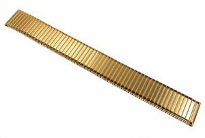 Minott-Flex-Band-Ersatzband-Uhrenarmband-Edelstahl-Zugband-PVD-Gelbgold-22855
