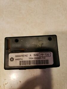 56020157AB 1998 Dodge Ram 1500 Body Control Module Timing Alarm BCM CTM