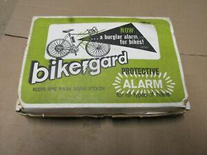 Vintage Bicycle Alarm Bike Gard Motion Activated Burglar Alarm NOS accessory
