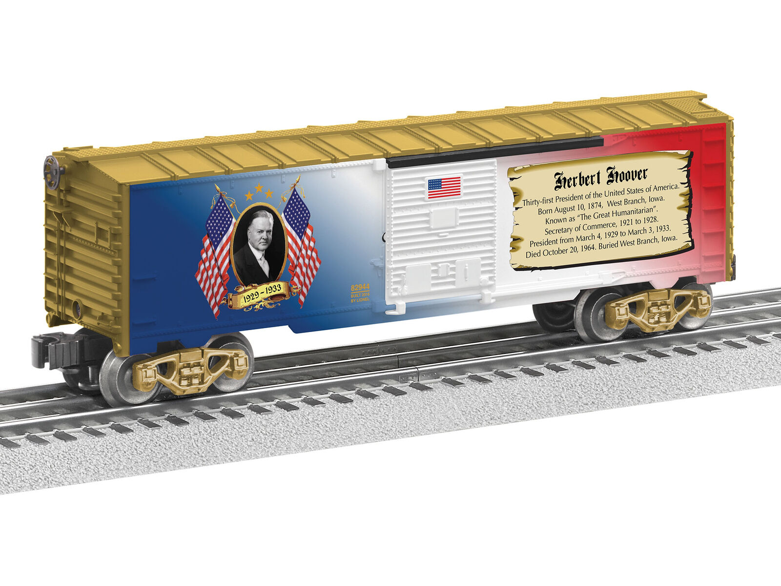 Lionel 6-82944 Presidential Series Herbert Hoover scatola auto O O O Gauge modello i treni 347cc0