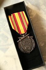 WW2 MILITARY DUNKIRK DUNKERQUE EVACUATION MEDAL BRITISH & ALLIED FORCES BOXED