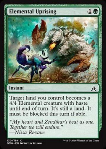 4x Rivolta Elementale Elemental Uprising MTG MAGIC OGW Eng//Ita