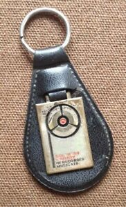 SOUTHERN-LIBRARY-recorded-music-portachiavi-keychain-porte-cles-vintage-1970