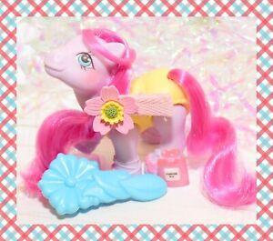 ❤️My Little Pony MLP G1 VTG Baby Sweetsteps Pink BALLERINA Original Brush❤️