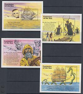Sierra-Leone-Sc-1934-1973-MNH-1996-Fantasies-of-the-Sea-40-Souvenir-Sheet-set