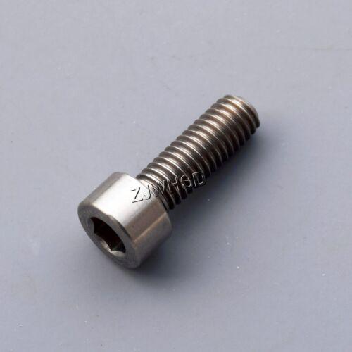 M6 x 18 Titanium Ti Screw Bolt Allen Hex Socket Cap Head Aerospace Grade Bicycle