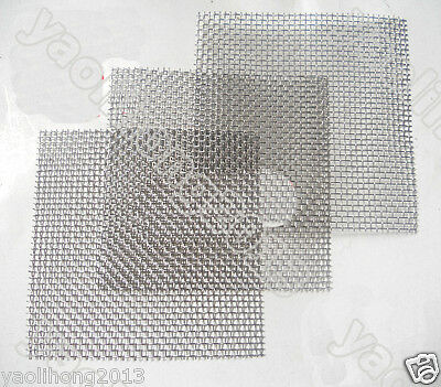 """T304 Stainless Steel Coarse Dense Gauze Woven Mesh #4 to #400,width 3"""" to 20"""" VA"""