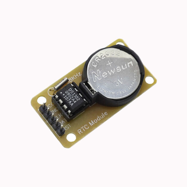 10Pcs New DS1302 Real Time Clock  Electronic Module For AVR ARM PIC SMD