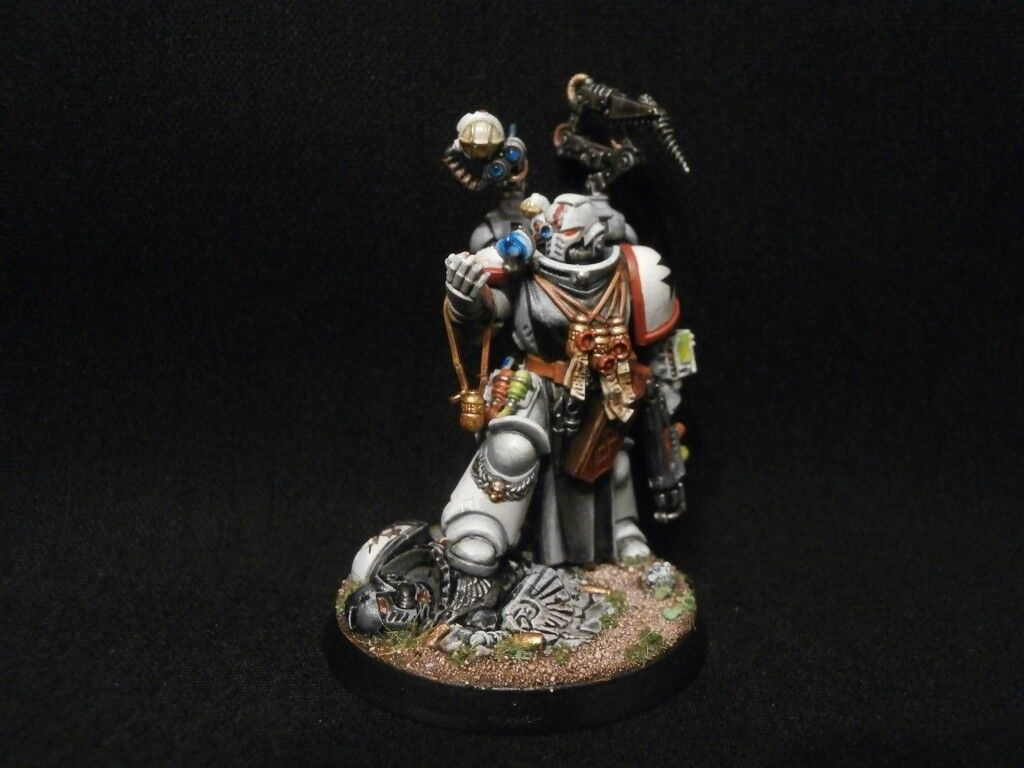 PRO-PAINTED Primaris Space Marines Apothecary Kill Team COMMISSION 1 model