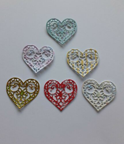 15 die cuts//card toppers more themes ... tattered lace hearts Crafting