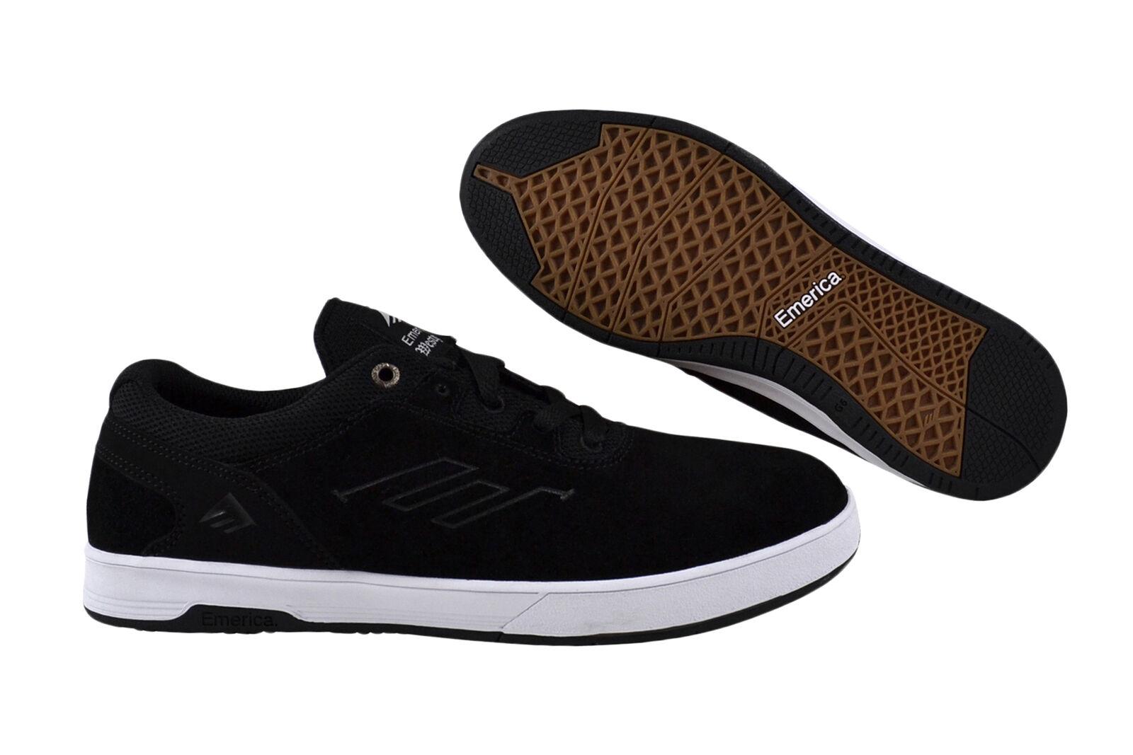 Descuento de la marca Emerica Westgate cc Black/White skater Sneaker/zapatos negro
