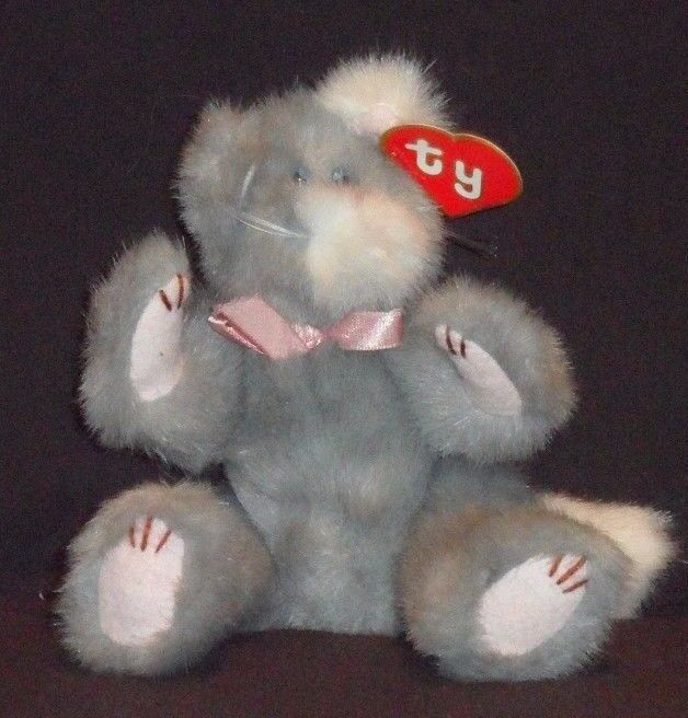 TY WHISKERS the CAT ATTIC TREASURE - MINT - RARE 1ST GEN HANG TAG