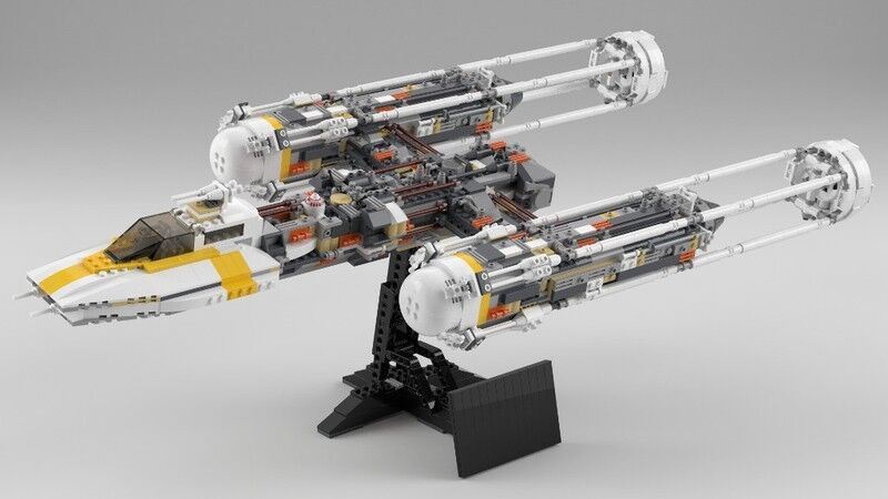 Lego Star Wars Ultimate colector serie 10134-1 Y-wing ataque Starfighter USC