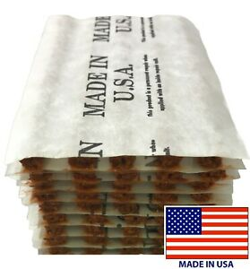 50-Piece-Brown-4-034-Tire-Plug-Insert-String-Tubeless-Tyre-Repair-Seals-USA-MADE