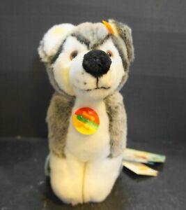 Steiff-Scotty-Junior-Husky-Disney-Tag-EAN-079610-NWT-New-With-Tags-2003