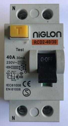 Niglon 40A 30mA RCD