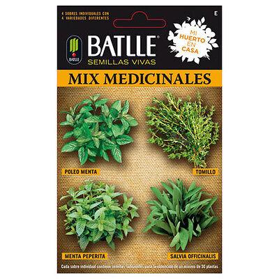 Semillas de Batlle - Ideal para Huerto Urbano (Mix Medicinales)