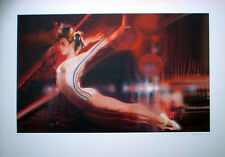 Pommel Horse - Visions of Gold Print - Los Angeles 1984 Olympics  Robert Peak