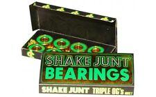 SHAKE Junt Triple OG's ABEC 7 cuscinetti skate skateboard Baker DeathWish GUARNIZIONE NUOVO