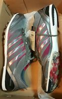 Women's Adidas Belligerenc Track And Field Shoes Size 12.5 Grey/pink
