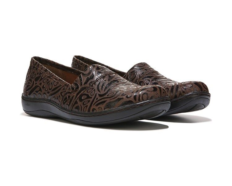 B.O.C. by Born Howell leather clogs tooled brown sz sz sz 7 Med NEW de3028