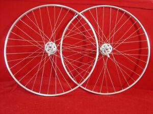 Mavic-Championnat-Du-Monde-700c-Wheel-Set-Normandy-Hubs-Tubular-36-Spokes-Used