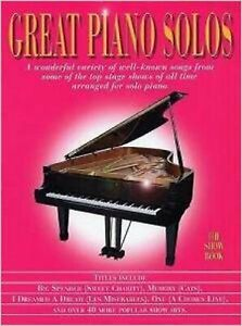 Great-Piano-Solos-The-Show-Book-New-Wise-Publications-Book