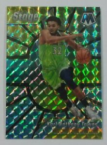 2019-20-Panini-Mosaic-CENTER-STAGE-11-KARL-ANTHONY-TOWNS-Timberwolves-HOT