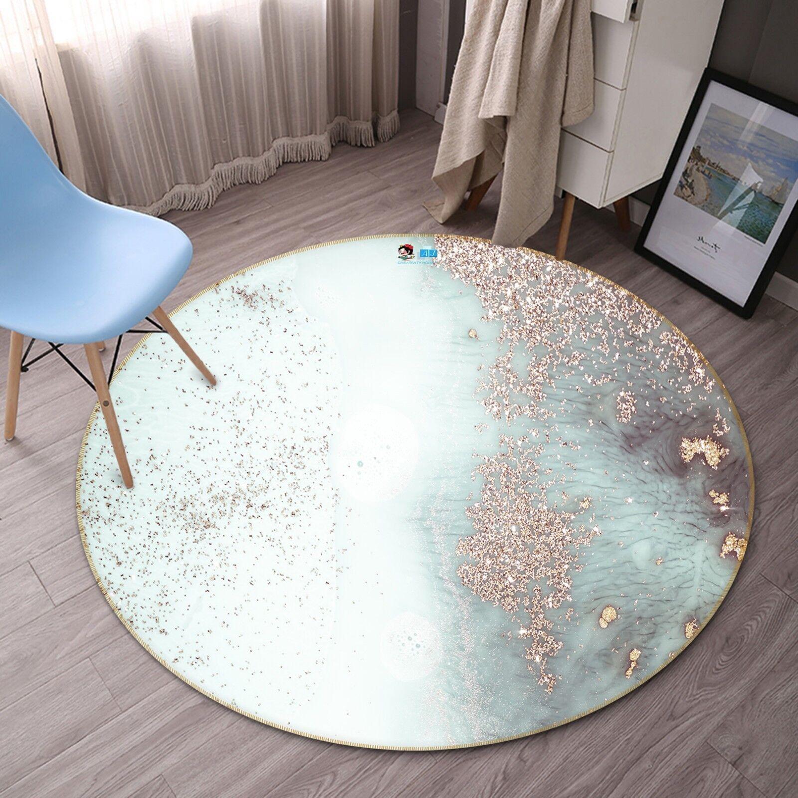 3D Dream Abstract 5 Non Slip Rug Room Mat Round Quality Elegant Photo Carpet AU