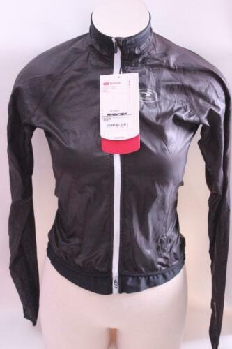 New Sugoi Women/'s RS Jacket XS Black Cycling Bike Wind Water Resistant Top