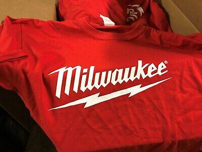 "Milwaukee Power Tools /""My Tool Lasts Longer/"" T-Shirt Size 2XL XXL /""Authentic/"""