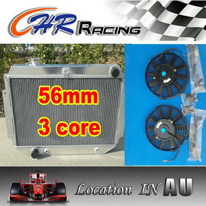 3-ROW-56mm-for-HOLDEN-HQ-HJ-HX-HZ-253-308-V8-Aluminum-Radiator-2-12-Fan